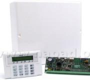 Centrala alarmowa, manipulatorr i skrzynka (zestaw) SATEL